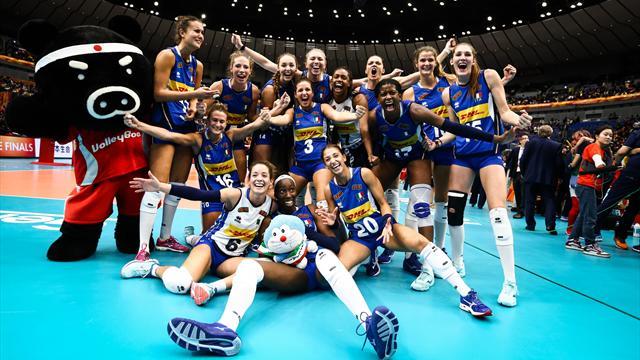 Italia, sei in finale! Cina piegata al tie-break, ora la Serbia per il sogno mondiale