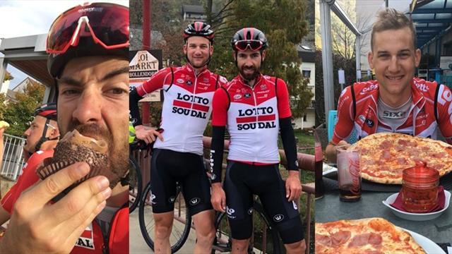 La aventura de Wellens y De Gendt, 1.000 kms en 6 días de Lombardía a Bélgica para volver a casa
