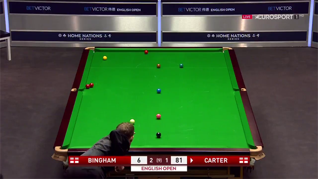 'Ali Cater outrageously doubles that red' – the Captain produces magnificent shot