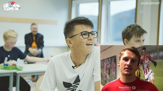 Drømmekampen: Tromsø-stjernens beskjed gjør Iver (13) rørt