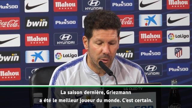 """Ballon d'Or - Simeone : """"Griezmann a été le meilleur du monde la saison dernière"""""""