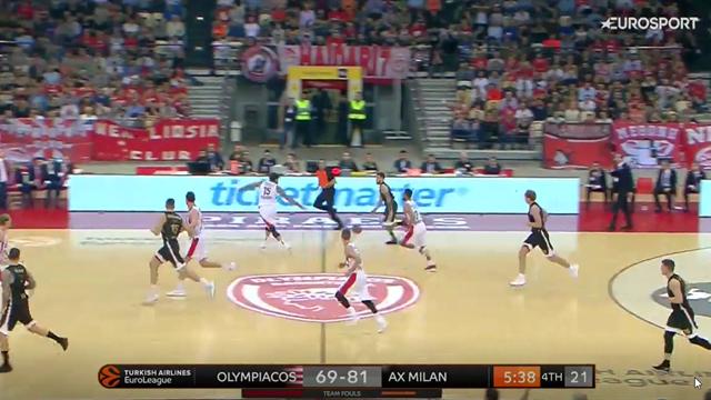 Highlights: Olympiacos Pireo-AX Armani Exchange Milano 75-99