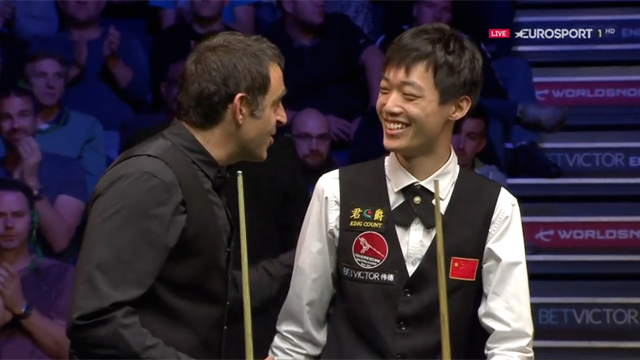 Ronnie O'Sullivan: I can't believe I have won that match