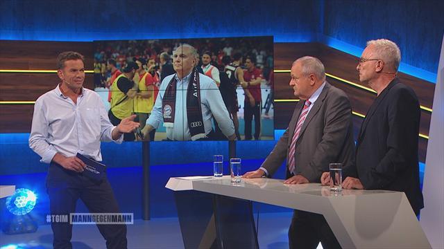 Mann gegen Mann - die komplette Sendung: Stein, Köhler und Stenger zum Bayern-Beben