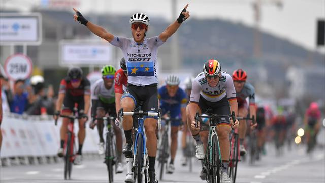 European champion Trentin: Christmas rides are for losers