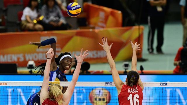 L'Italia sfiora l'oro Mondiale: la Serbia ci batte al tie-break, gli highlights della finale