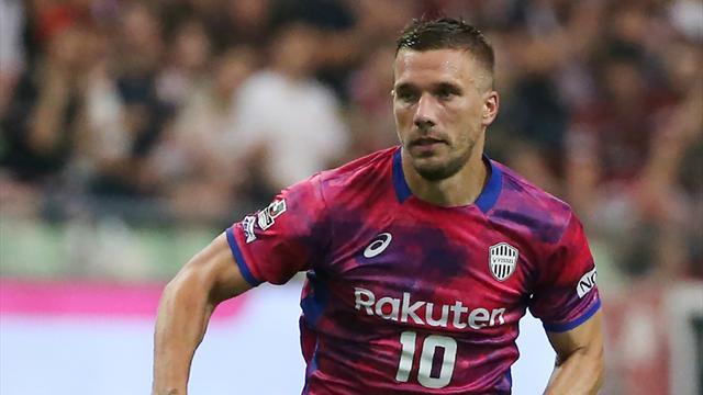 Podolski zittert mit Vissel Kobe, Kawasaki Frontale feiert Titel