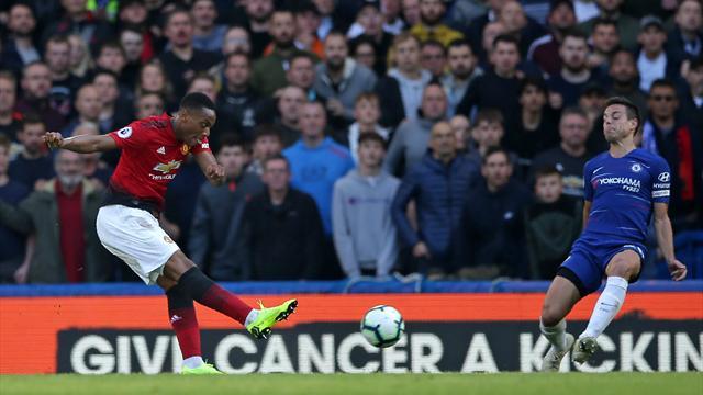 Chelsea frustre Martial et Mourinho