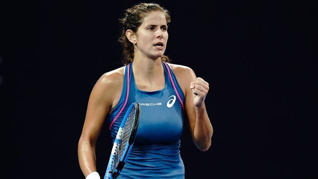 WTA Elite Trophy: Goerges in semifinale, ok Sevastova e Barty