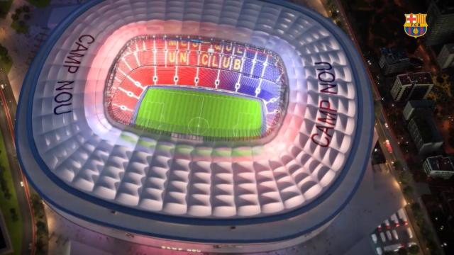 Le projet complètement fou du futur Camp Nou