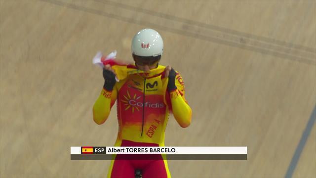 Copa del Mundo: Albert Torres se cuelga la medalla de oro en el Omnium en Francia
