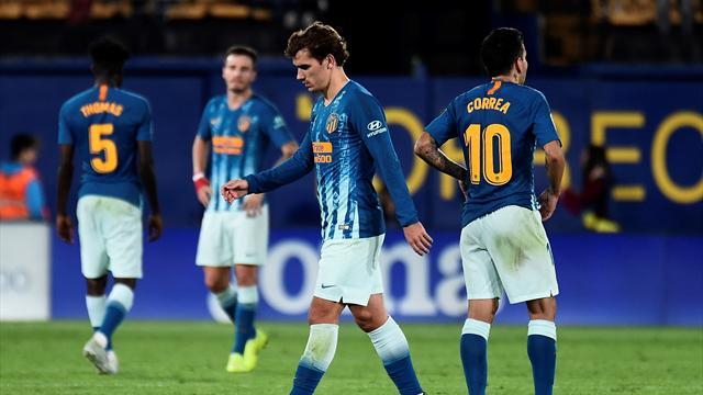 L'Atlético cale à Villarreal et rate la tête