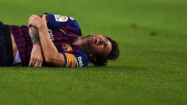 Messi, trois semaines d'absence et pas de Clasico