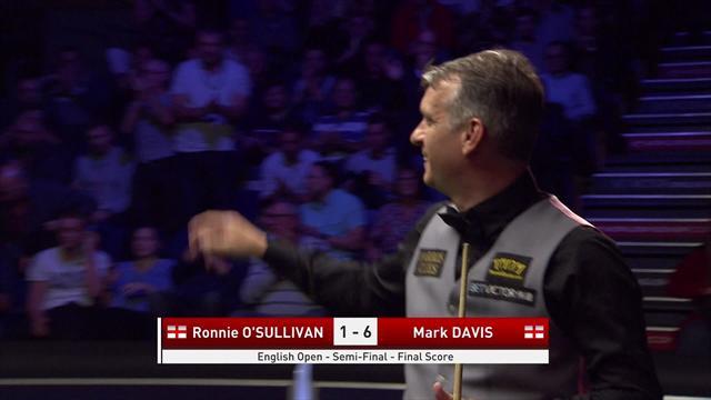 Mark Davis seals big win over Ronnie O'Sullivan