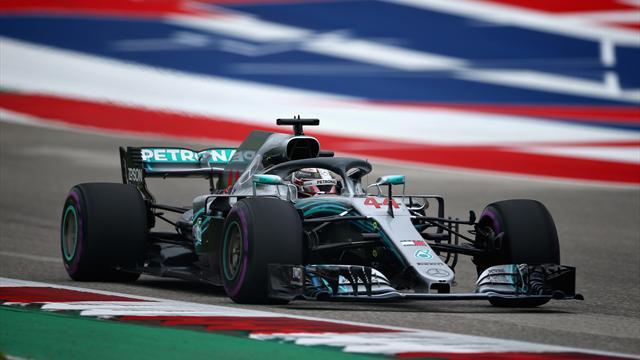 Ferrari a tenté, Hamilton a résisté