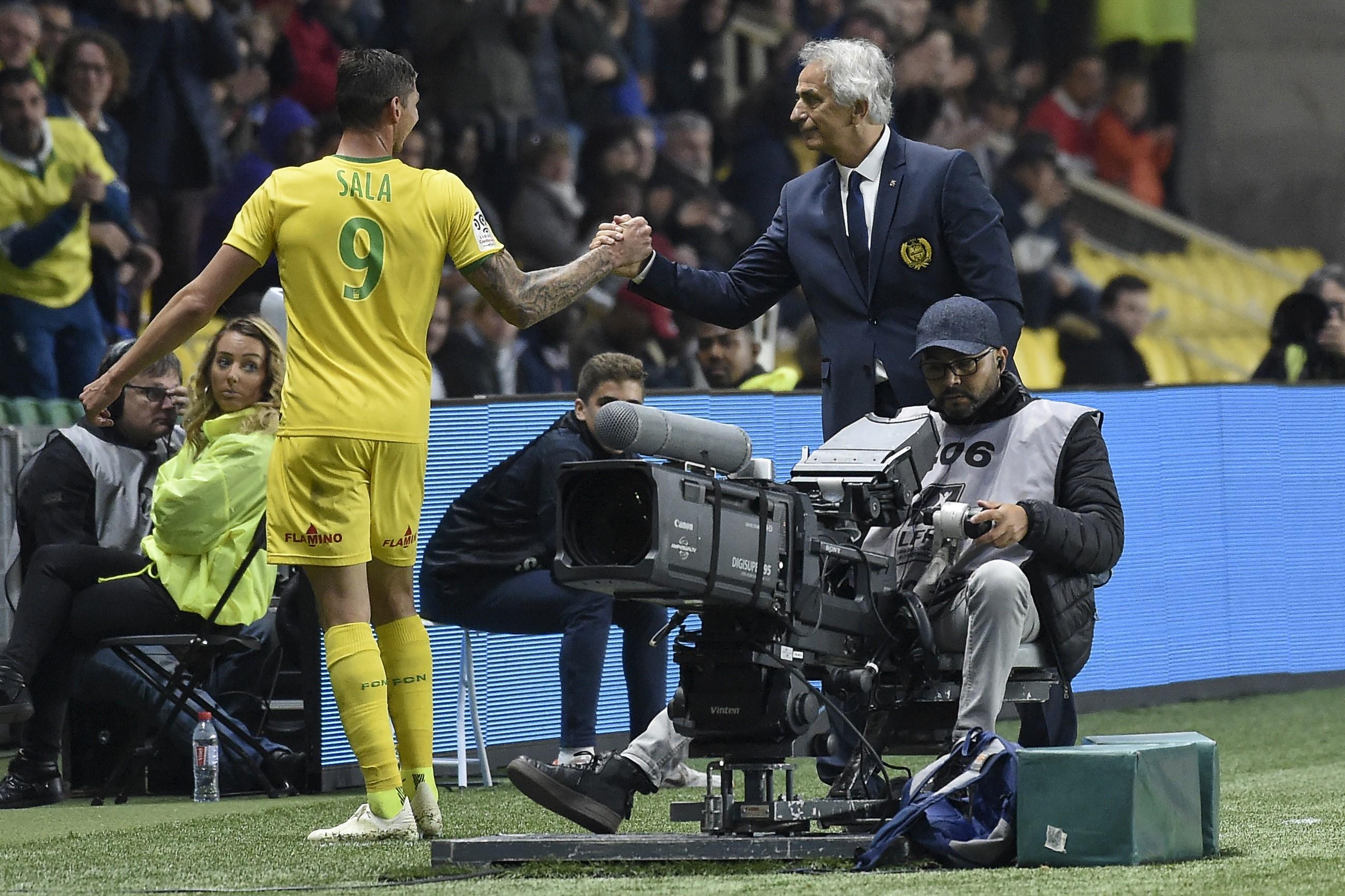 Halilhodzic s'enflamme pour Sala et le compare à Messi — FC Nantes