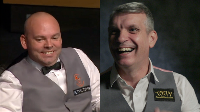 60 Seconds with English Open finalists Mark Davis and Stuart Bingham