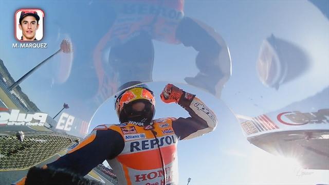 So erlebte der Weltmeister seinen Triumph: Die Highlights aus der Onboard-Kamera