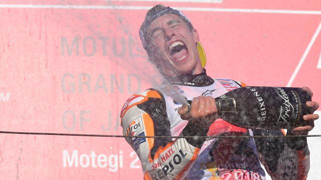 """Marquez : """"Le big boss de Honda était heureux... je vais pouvoir lui demander un peu plus d'argent"""""""