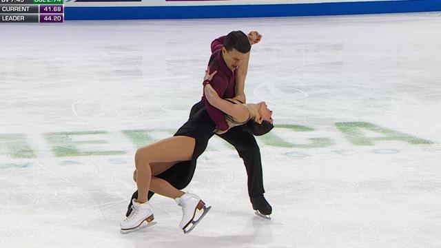 Che eleganza: Charlene Guignard e Marco Fabbri al secondo posto dopo il corto a Skate America