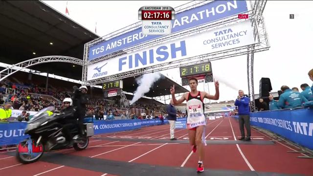 Marathon van Amsterdam | Michel Butter Nederlands kampioen marathon