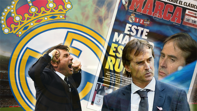 Euro Papers: Conte ready to go - but when will Real sack Lopetegui?