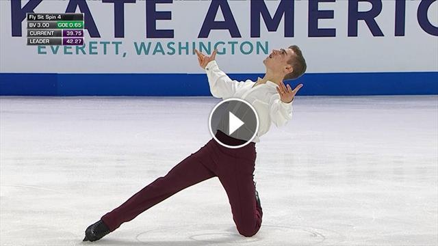 Che esordio al Grand Prix di Matteo Rizzo: manca il podio per 63 centesimi a Skate America
