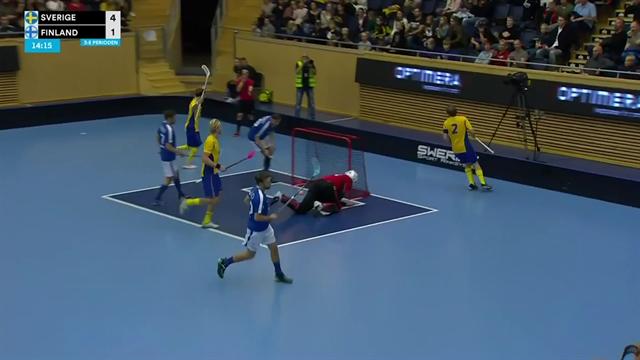 Höjdpunkter: Säker svensk seger mot Finland - Sverige obesegrade i EFT