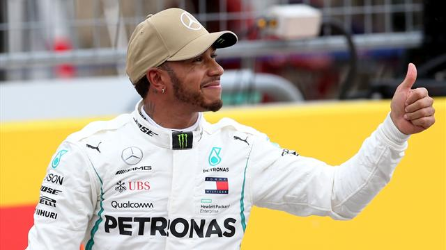 What does Hamilton need to win F1 title in Mexico?
