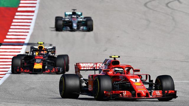 Räikkönen et Verstappen retardent le titre de Hamilton