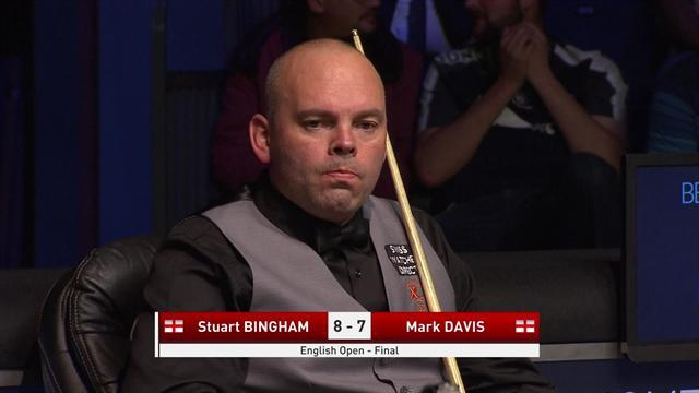 Century break puts Bingham on cusp of English Open victory