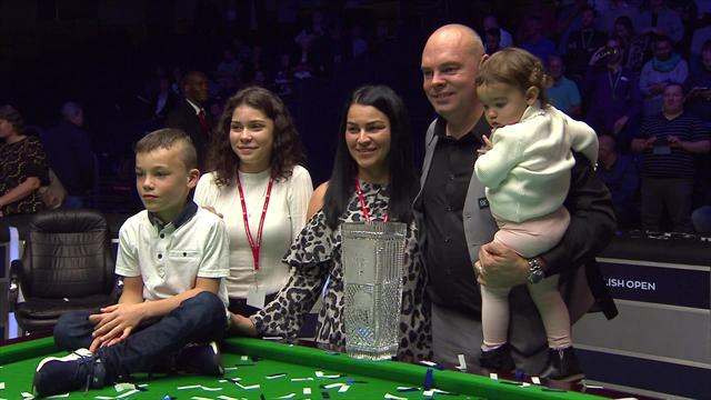 "Brilliant Bingham wins English Open and sheds a tear after ""difficult"" 18 months"