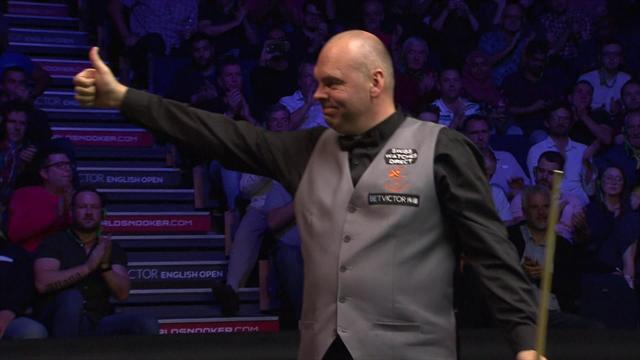 Watch the closing moments of the decisive 16th frame in English Open final