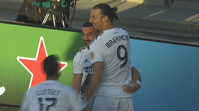 Kopfballtor und feine Vorlage: Ibrahimovic mal wieder Matchwinner für Galaxy