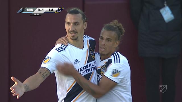 But et passe décisive : face à Minnesota, Zlatan a encore noirci sa feuille de stats