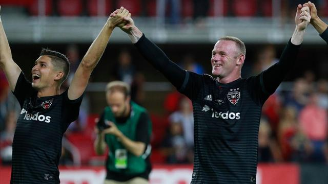 MLS Highlights: Absolute vedette! Wayne Rooney schiet DC United naar play-offs...