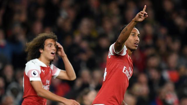 Avec un doublé en trois minutes, Aubameyang a renversé Leicester