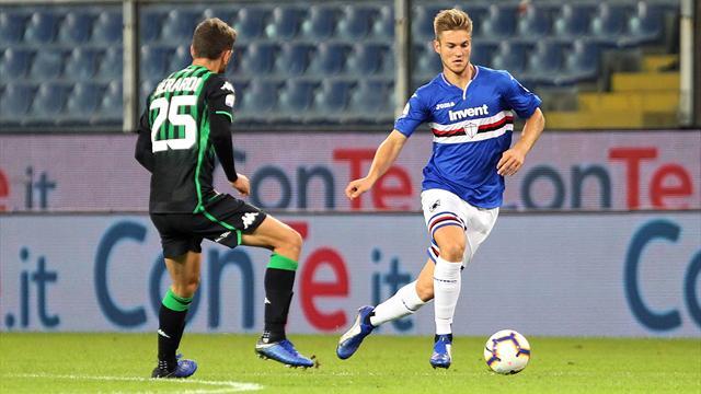 Sassuolo-Sampdoria: probabili formazioni e statistiche