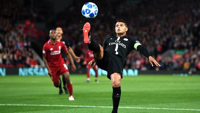 Thiago Silva, absent de l'entraînement, devrait rater Napoli