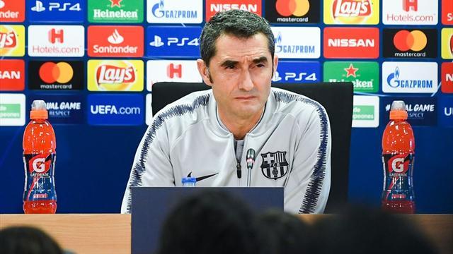 """Valverde: """"¿Tema cerrado con Dembéle? No lo sé, tenemos entrenamiento mañana"""""""