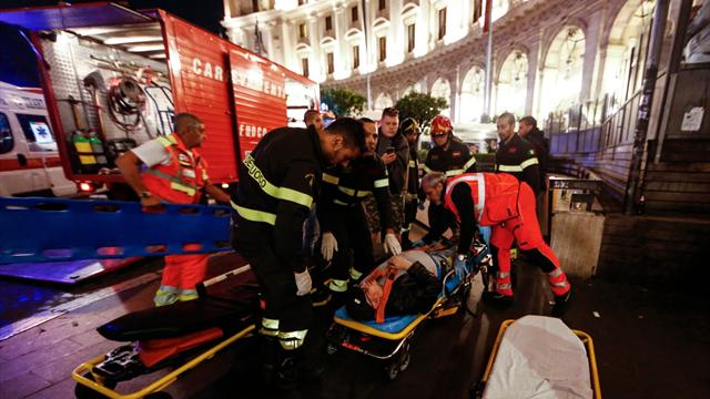 Several CSKA fans seriously injured in Rome after escalator careers out of control