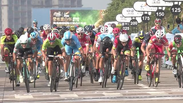 Carstensen wins Stage 2 of Tour of Hainan in photo finish