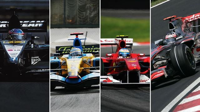VOTA: ¿Con cuál de los monoplazas de Fernando Alonso te quedas?