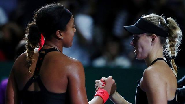 Tennis, WTA Finals, Angelique Kerber batte Naomi Osaka