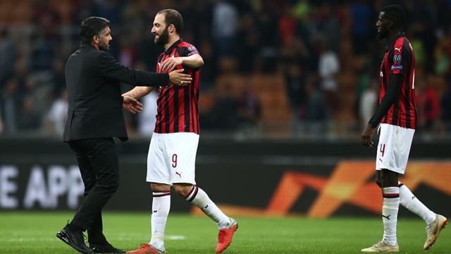 """Gattuso: """"Higuain? Fosse per me lo chiudo in casa e gli butto il mangiare ogni due/tre ore"""""""