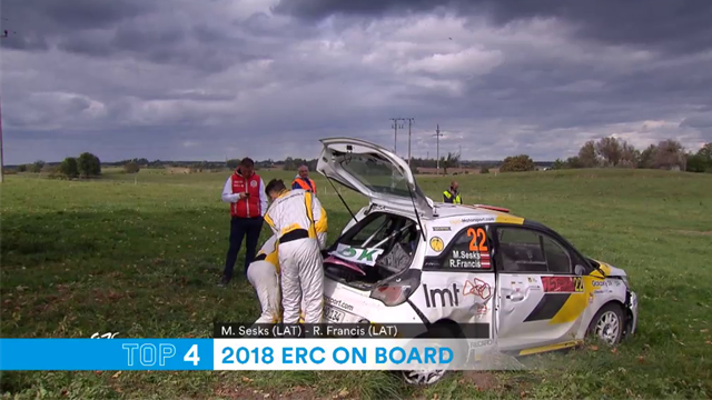 Extraordinary on-board footage of Rally Car crashes