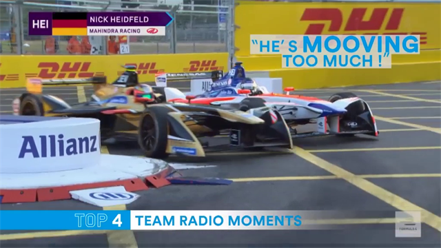 Tempers flare and jokes are cracked on Formula E's amazing team radio feeds