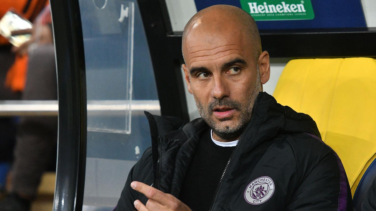 Pep Guardiola expects five-horse Premier League title race - Premier League 2018-2019 - Football ...