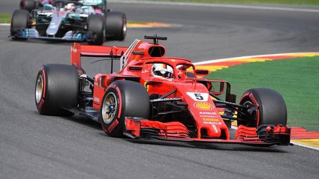 Showdown um die Team-WM: Mercedes schnell, Vettel kämpft