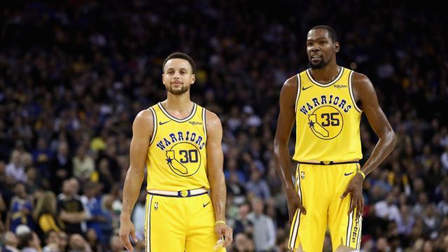 Curry et Durant, un duo fantastique qu'il faut savourer